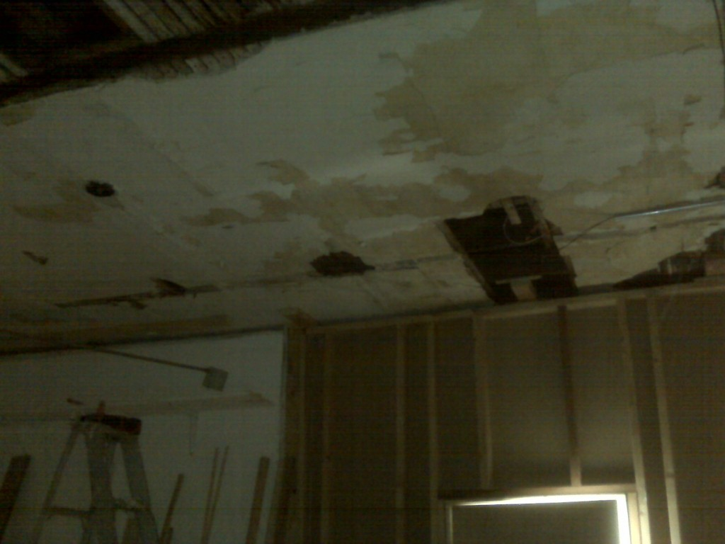 After dropped ceilings came down